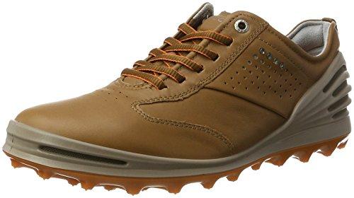 ECCO Men's Cage Pro, Zapatillas de Golf Hombre, Marrón (1034 Camel), 46