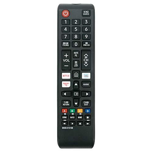VINABTY BN59-01315B Fernbedienung ersetzt für Samsung UHD 4K Smart TV UE43RU7100K UE43RU7100W UE75RU7170U UE43RU7105K UE43RU7170S UE43RU7170U UE43RU7172U UE43RU7175U UE43RU7179U UE55RU7170S