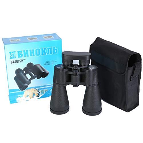 Binoculares para Adultos, 30 x 60 Binoculares compactos para observación de Aves, Excursionismo,...