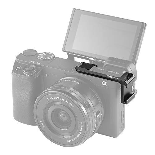 SMALLRIG Sony A6000 A6100 A6300 A6400 A6500用コールドシュープレート コールドシューアダプター 左側用-...