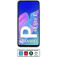 """HUAWEI P40 Lite E - Smartphone con pantalla FullView de 6,39"""" (Kirin 710, 4 GB + 64GB, Triple Cámara IA de 48MP, Batería de 4000 mAh), Color Azul"""