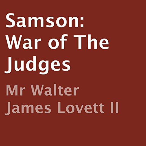 Samson: War of the Judges cover art