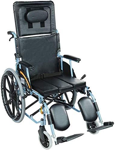 Silla de Ruedas eléctrica Plegable, Aluminio silla de ruedas, ligero y plegable marco, Operadora de propulsión en silla de ruedas, portable de la silla de viajes de tránsito, las estriberas extraíbles