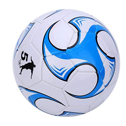 Balón de fútbol de entrenamiento de fútbol de la pelota de fútbol estable para estudiantes de cuero resistente al desgaste para el fútbol tiro y el paso