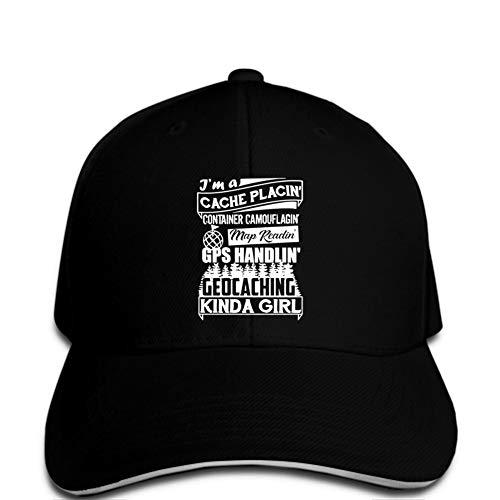 Gorra de Beisbol Gorra de béisbol Moda Hombre Sombrero Geocaching Evolution
