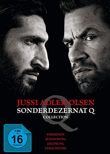 Jussi Adler-Olsen: Sonderdezernat Q - 4 Filme Collection [4 DVDs]