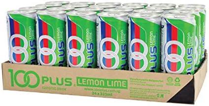 100 Plus Lemon Lime, 24 x 325ml