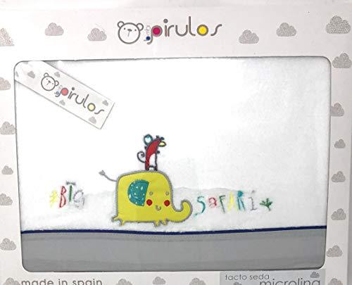 PIRULOS-Sabanas invierno Microlina MINICUNA - (bajera+encimera+funda almohada) Love dreams (801225)
