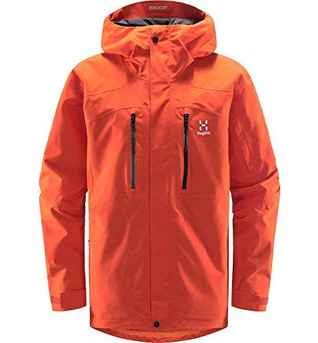 Haglöfs Skijacke Herren Elation GTX Jacket wasserdicht, Winddicht, atmungsaktiv Habanero M M