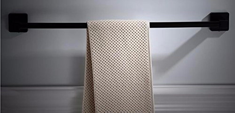 descuento GBHNJ Capa Simple Solo Varillas Negro Toallas Toallas Toallas No Necesita Perforar 30Cm  suministro directo de los fabricantes