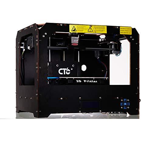 Abcs Printing Stampante 3D Stampante 3D desktop, stampante 3D da ufficio, stampante 3D assemblata, scheda SD di supporto e stampante FDM 3D multi-filamento