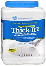 Thick-It 2 Instant Food and Beverage Thickener, Unflavored Concentrated Powder - 36 oz, Pack of 4