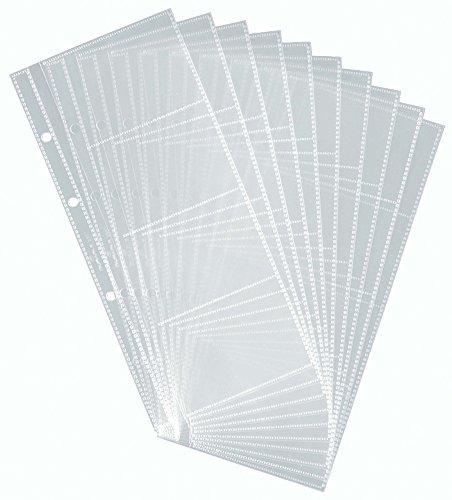 Durable 238719 - Paquete de 10 fundas para tarjetas de visita