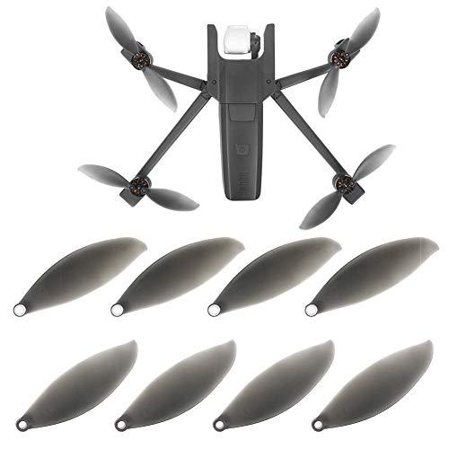 Meijunter Drohnen Propeller Requisiten Klingen für Parrot Anafi Drohne - Flügel Antenne Flug Zubehör(4 Paar)