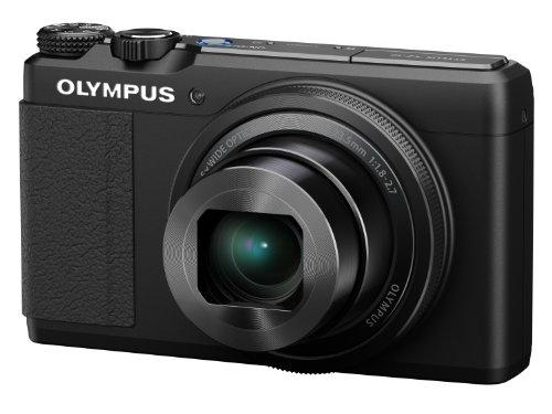 Olympus XZ-10 Digitalkamera (12 Megapixel, 5-Fach Opt. Zoom, 7,6 cm (3 Zoll) LCD-Display, bildstabilisiert) schwarz