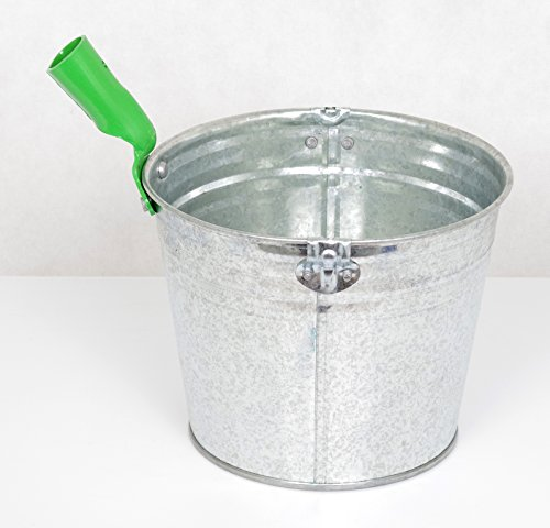Jaucheschöpfer - Gülleschöpfer - Schöpfkelle - verzinkt - 5 Liter - ø230 mm