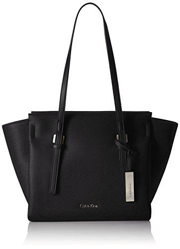 Calvin Klein Damen M4RISSA MEDIUM TOTE Tote Schwarz (BLACK )
