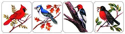 Eureka Bird Stickers Teacher Supplies for School Children, 1'W x 1'H, 120pc