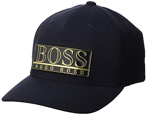 BOSS Mens Rivet Cap, Dark Blue (402), ONESI