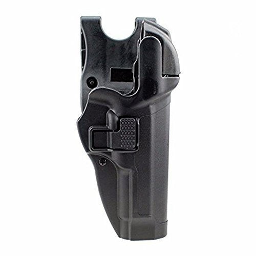 quanlei Tactical Right Hand Waist Belt Level 3 Lock Duty Holster Suitable for Glock 17 19 22 23 31 32 (Size 04 - Beretta 92/96/M9/M9A1 (Not Brigadier/Elite/92A1/96A1) with or w/o Rails)