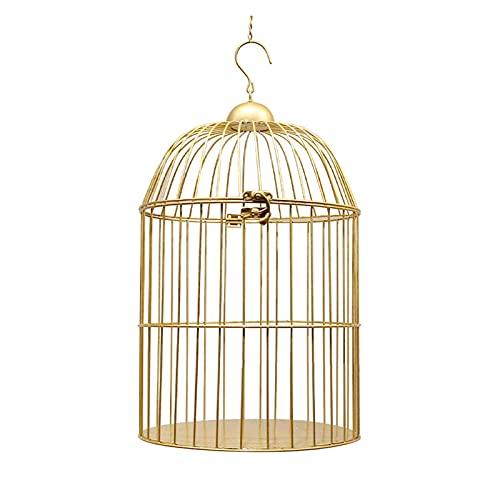 Parrot de jaulas de pájaros Europeo retro hierro pájaro jaula flor soporte pájaro jaula balcón decoración al aire libre suministros para mascotas jaula de pájaros decorativos Para las cockatiels periq