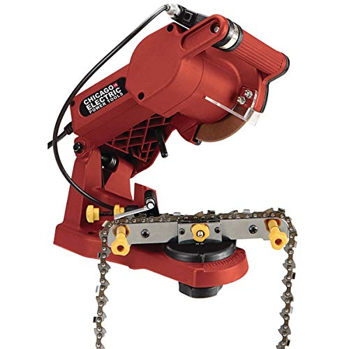 Electric Chain Saw Sharpener Wall, Bench or Vise Mount