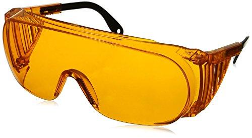 Uvex S0360X Ultra-spec 2000 Safety Eyewear, Orange Frame, SCT-Orange UV Extreme Anti-Fog Lens