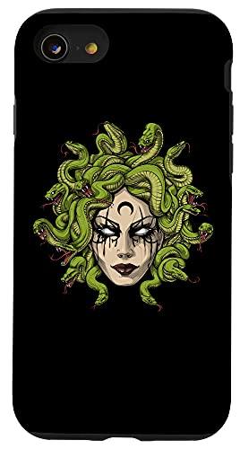 iPhone SE (2020) / 7 / 8 Medusa Greek Goddess Snakes Ancient Greece Mythology Gothic Case