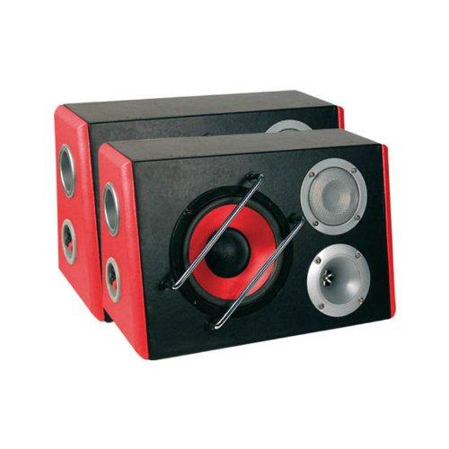 Ototop 93388 Paar Lautsprecherbox Scream 8, Rot