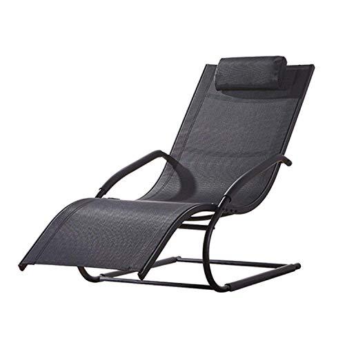 Ligstoel Fauteuil Opklapbare ligstoelen Tuinbed Ligstoel Fauteuil Bureaustoel Hoofdsteun Zero Gravity Duurzaam Sterk Voor Strand Patio Camping Tuin Buiten