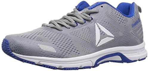 Reebok Men's Ahary Runner Running Shoe, White/Cool Shadow/Vital b, 12 M US