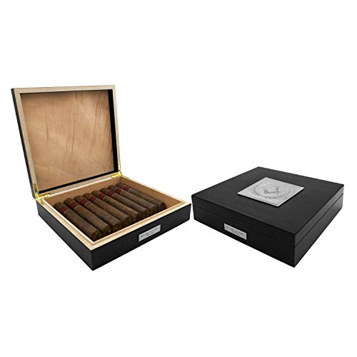 Masonic Revival - Masonic Humidor 20 Cigar - Black