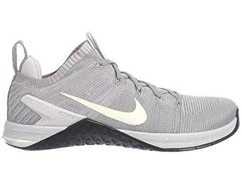 Nike Men's Metcon DSX Flyknit 2 Running Shoe (10, Matte Silver/White)