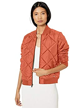 Dickies Women s Quilted Bomber Jacket Auburn 2X