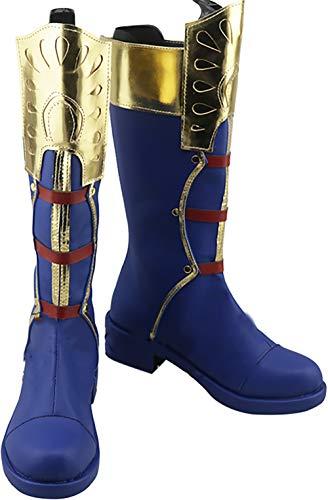 GSFDHDJS Cosplay Stiefel Schuhe for My Hero Academia Todoroki Shoto