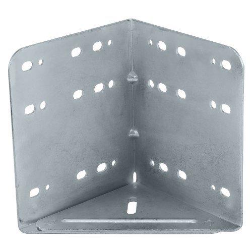 4 Stück SO-TECH® Bettwinkel Eckverbinder verzinkt (sehr stabile Bettbeschlag Ausführung)