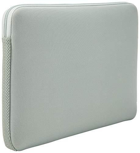 Case Logic LAPS Notebook Hülle für 14 Zoll Laptops (ultraschmales Sleeve, ImpactFoam Schaumpolsterung für Rundumschutz, Laptop Tasche ideal für Chromebook oder Ultrabook), Aqua Gray