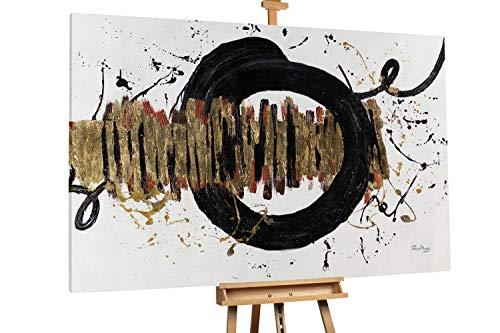 Kunstloft® Extraordinario Cuadro óleo 'Rhythm of