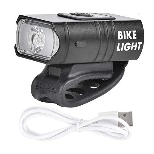 TWOC-QPD Luz para Bicicleta Luz para Bicicleta, Luz LED Recargable por USB Impermeable, Fácil De Montar para Bicicleta De Montaña, Bicicleta De Carretera Todas Las Bicicletas Ciclismo Paseo Nocturno