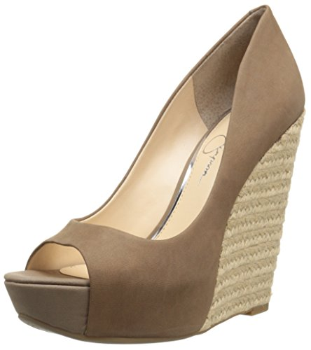 Jessica Simpson - Cama para Mujer, Color marrón, 39 EU, Color Beige, Talla 42 EU