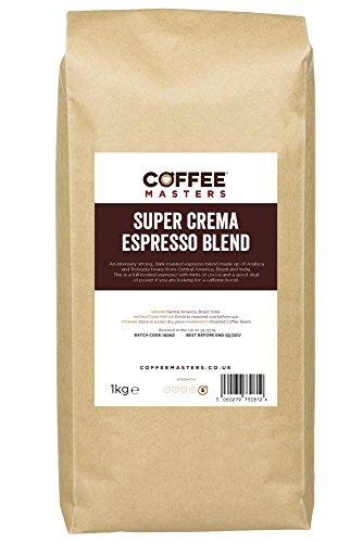 Koffie Meester Super Crema Espresso Koffie Bonen 1kg