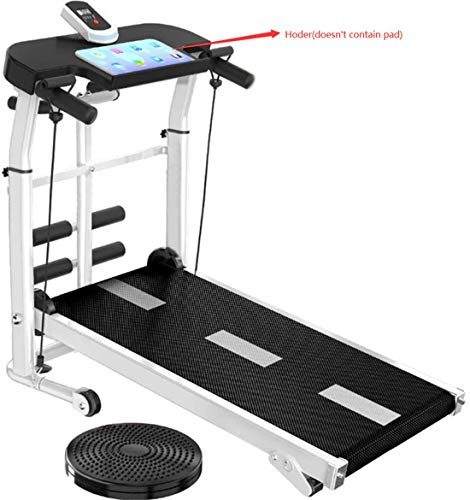 nice shop now Exercise Machine Plegable Mecánica Andar Trotar Caminar Sit-up Carrera en Cinta de Máquina no Eléctrico hasta 150kg Ideal para Hogar/Oficinas (Negro)