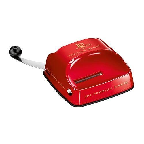Zigarettenstopfmaschine JPS Premium Maker mit Hebel aus Kunststoff in rot