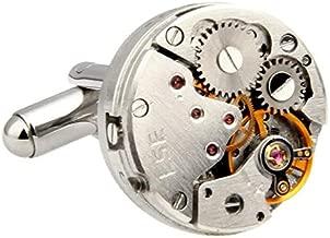 Retro Mechanical Watch Movements Shape Cufflinks Personalized Fashion Mens Shirt Cufflinks