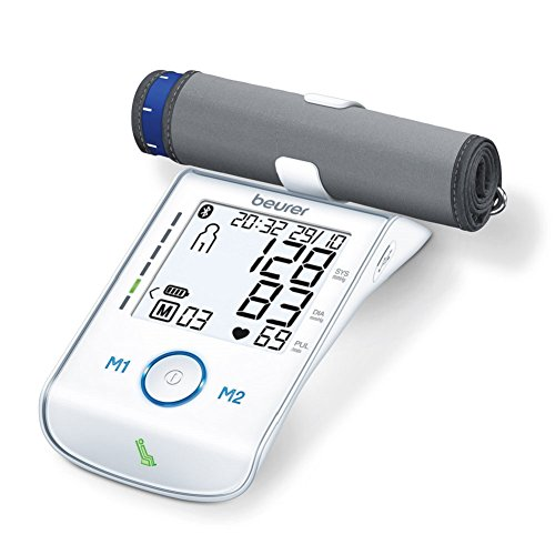 Beurer BM85 Upper Arm Blood Pressure Monitor with Bluetooth Smart and...