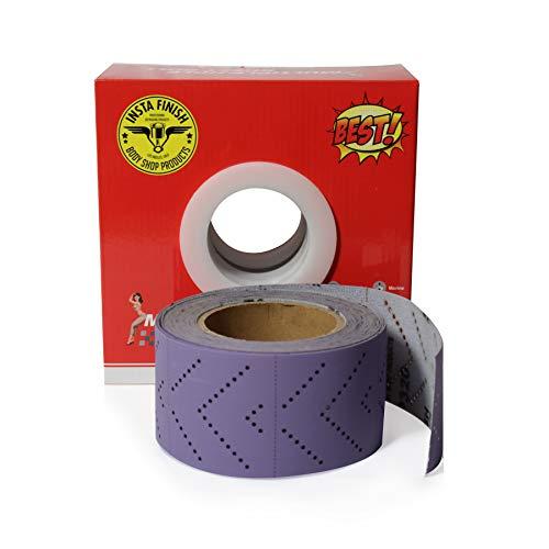 Insta Finish Sand Paper Hook & Loop Long Board  1 Roll Per Box