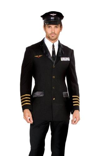 Hugh Jorgan Mile High Pilot Adult Costume (Large)