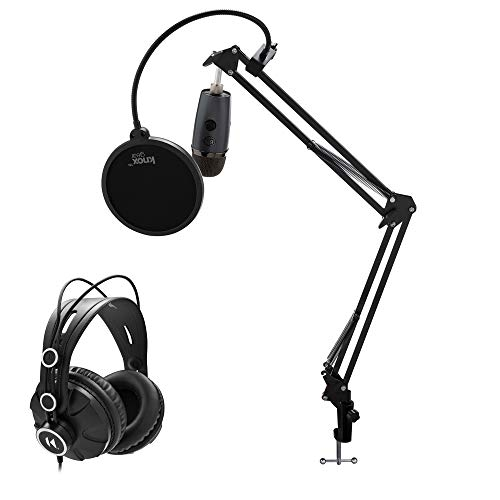 Blue Yeti Nano Premium USB Microphone (Shadow Gray) with Knox Gear...