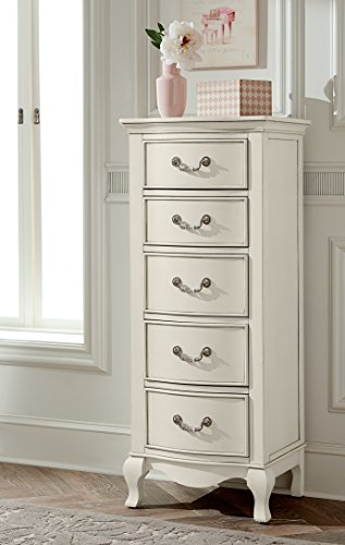 Slim Antique Cabinet with 5 Drawers