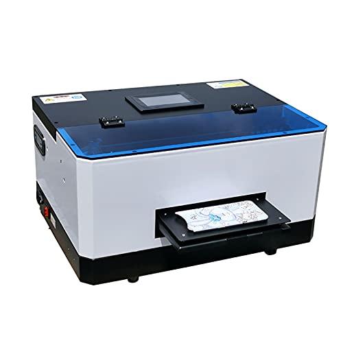 HXXXIN Flachbettdruck Automatische Kleine Handyhülle Drucker Haustier Namensschild Machen Geschenk DIY Home Farbe Inkjet